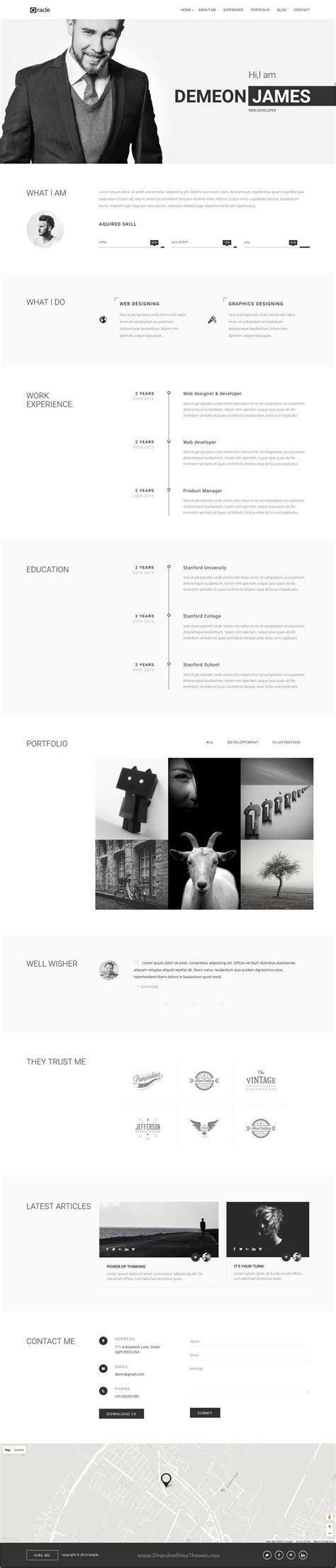 Resume Templates Muse best 25 personal portfolio ideas on personal