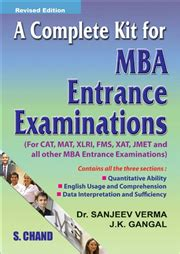 Competitive Exams For Mba by A Complete Kit For Mba Entrance Examination By J K Gangal
