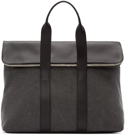 31 Phillip Lim Toni Carryall Tote by Lyst 3 1 Phillip Lim Grey Canvas Leather 31 Hour Tote