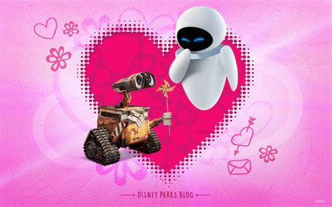 disney wallpaper valentines day celebrate valentine s day with wall e eve 171 disney parks