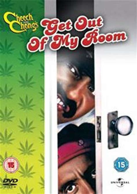 get out of the room cheech chong get out of my room dvd zavvi