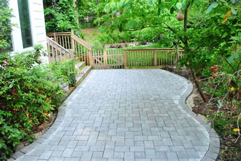 building paver patio how to build a paver patio it s done house