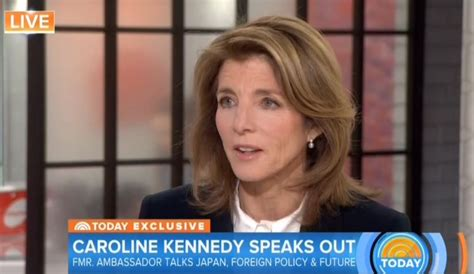 caroline kennedy running for office matt lauer invites caroline kennedy to bash trump s