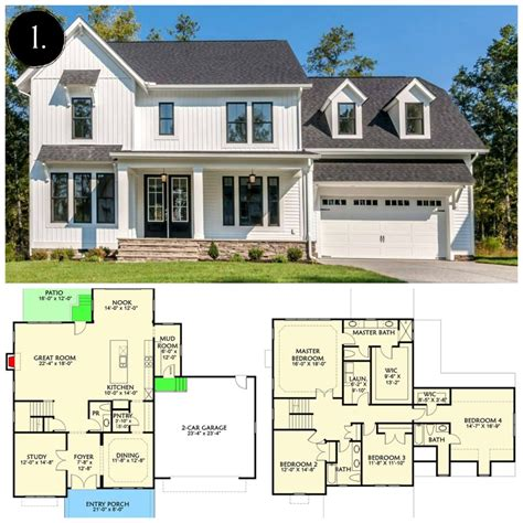 farmhouse floorplans 12 modern farmhouse floor plans rooms for rent