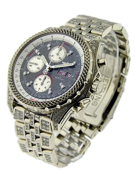 J13362 Breitling Bentley Collection GT White Gold   Essential Watches