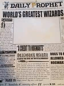 daily prophet template makin stuff a harry potter moving picture frame mellzah