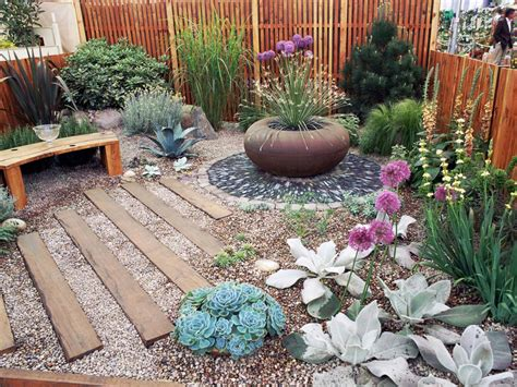 garden decorating ideas on a budget cheap garden design ideas hgtv
