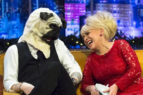 jonathan ross pug ed sheeran has barbara in stitches with his hilarious headgear 3am mirror