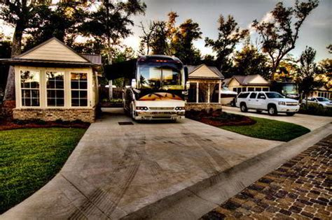 luxury park top luxury rv resorts and parks when is no object