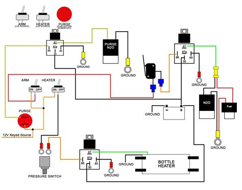 12v 30a relay wiring diagram 12v 40a relay diagram wiring