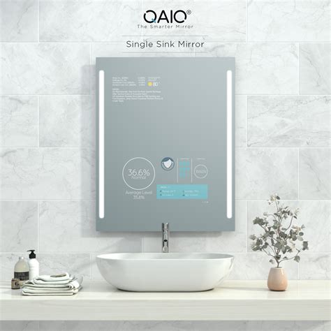 the sink mirror qaio single sink mirror evervuestore official website