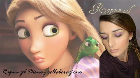 rapunzel disney collaborazione makeup tutorial rapunzel disney collaborazione makeup tutorial 4