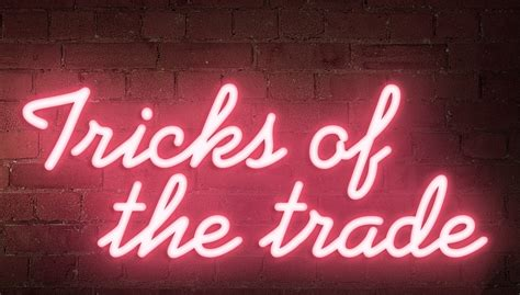 Trick Of The Trade by Robinson Reade Estate Agents 7 Tricks Of The Trade