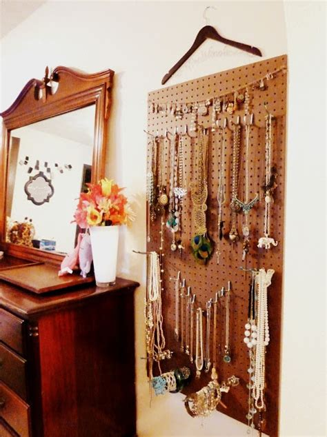 Pegboard Closet Organizer by 1000 Images About Jewelry Organization Pegboard Ideas On