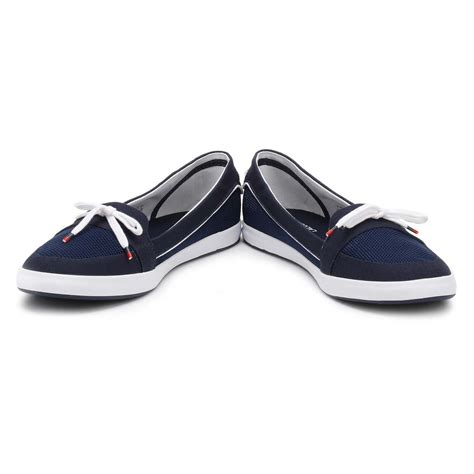 navy blue flats shoes lacoste womens boat shoes navy blue lancelle 117 1 caw
