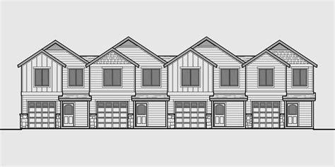 fourplex house plans fourplex townhouse house plan 4 plex house plans multiplexes quadplex plans