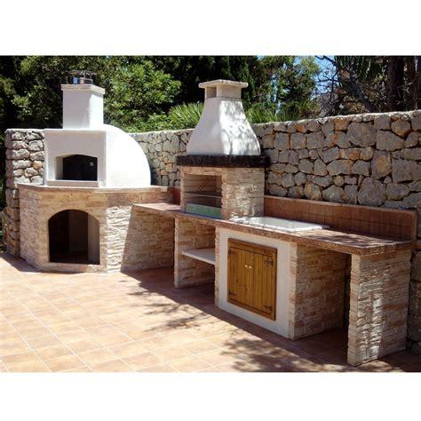 barbecue e forno a legna da giardino forno vulcano con barbecue salina personalizzato