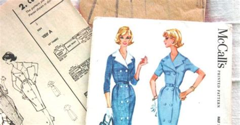 vintage mccalls sewing pattern 4524 uncut and factory fold vintage mccalls uncut printed pattern 5554 factory folds