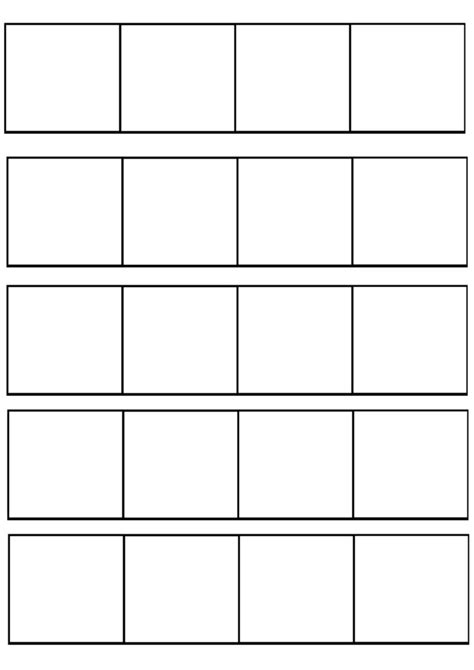 4 panel comic template by redkitebait on deviantart