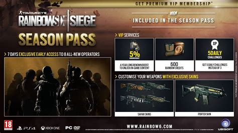 Pc Original Rainbow Six Siege Cd Key Uplay comprar rainbow six siege year 3 pass pc cd key para uplay comparar precios