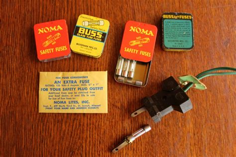 fuses for tree lights collecting vintage lights my sweet cottage