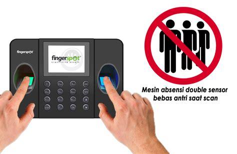 Mesin Absensi Revo Duo 158 Bnc fingerspot revo duo 158bnc mesin absensi sidik jari