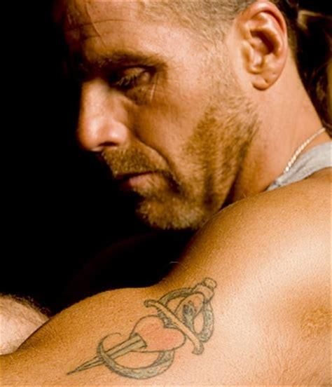 wwe tattoo maker tattoo blog 187 shawn michaels heart and sword wwe tattoos