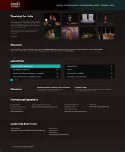Resume Website by Resume Website By Manujg On Deviantart