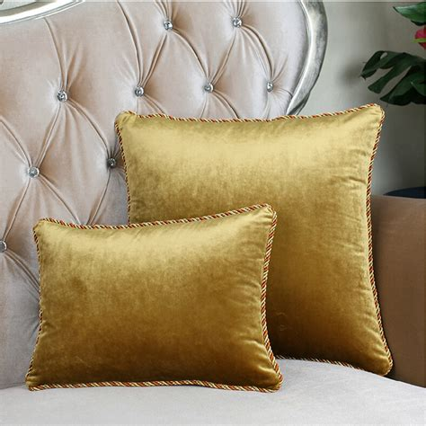 bed backrest pillow 9015 high grade velvet pillow cushions cushion sofa