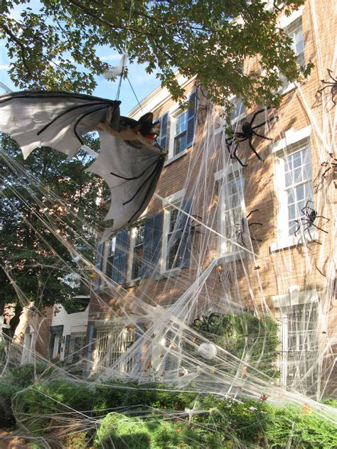 spooky ideas  outdoor halloween decoration