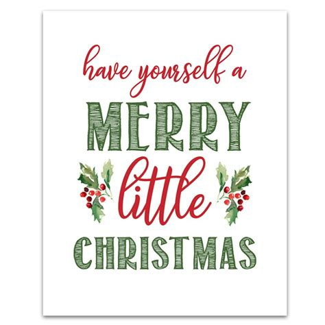 printable christmas signs 6 free printable christmas signs six clever sisters