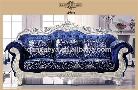 royal blue color sofa set luxury living room furniture royal blue velvet