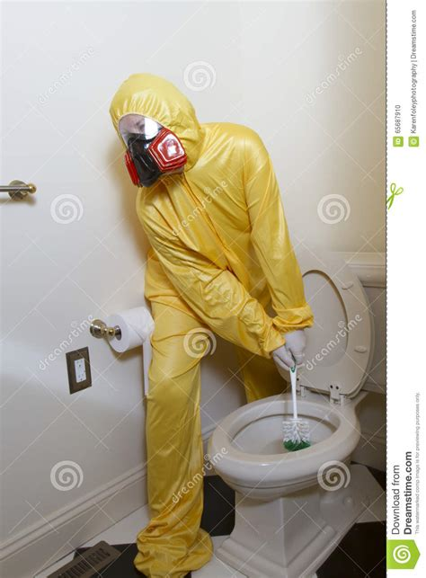 smelly bathroom germy smelly toilet cleaning stock photo image 65687910