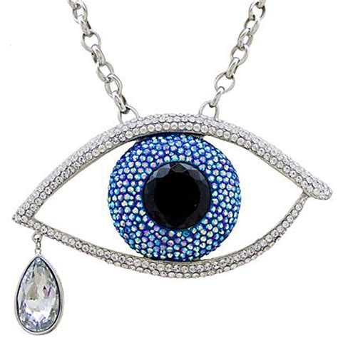 large pendants for jewelry butler and wilson large evil eye pendant necklace bw
