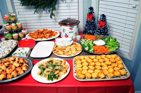 images of christmas party food not so newlywed mcgees christmas party