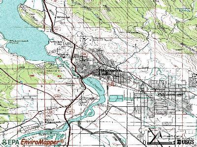 map of oregon showing klamath falls klamath falls oregon or 97601 profile population maps