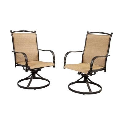 motion patio chairs hton bay altamira motion patio dining chairs