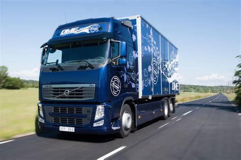 volvo diesel trucks volvo fh diesel trucks use bio dme fuel autoevolution