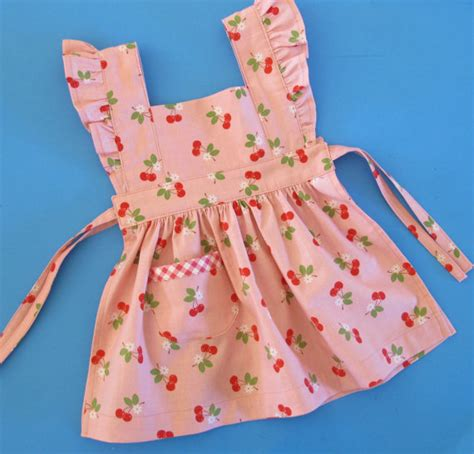 pattern for an apron dress storybook baby pinafore pattern vintage style pinafore