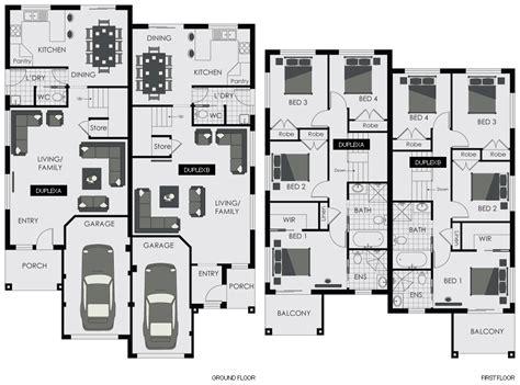 Duplex Floorplans by Project Home Floor Plans Sydney Fabulous Precious