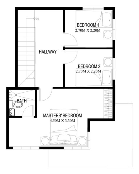 second floor plans home two story house plans series php 2014003