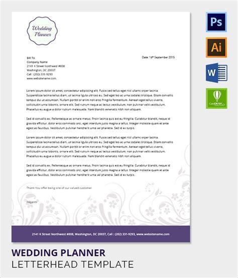 38 Company Letterhead Templates Free Sle Exle Format Sle Templates Bridal Letter Template
