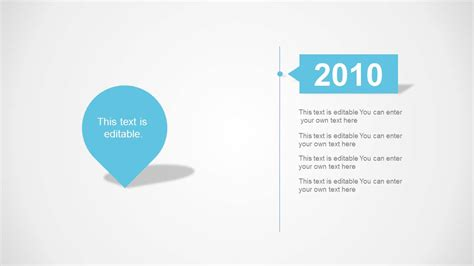 powerpoint layout clean clean timeline template for powerpoint slidemodel