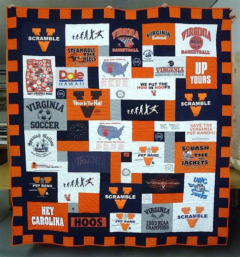 T Shirt Quilt Pattern by T Shirt Quilt Bindings And Borders