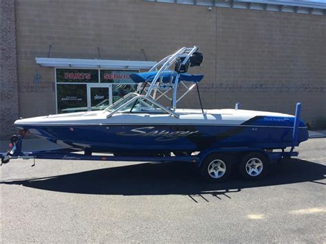 sanger boats v215 2007 used sanger v215 ski and wakeboard boat for sale