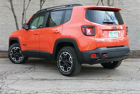 jeep renegade trailhawk orange test drive 2016 jeep renegade trailhawk the daily drive