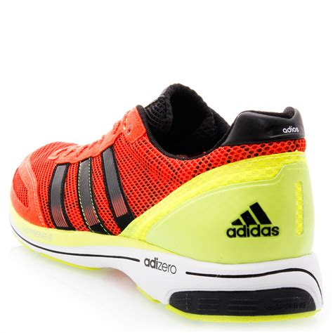 Ardiles Malovic Black Yellow Running Shoes adidas adizero adios 2 mens running shoes orange black yellow sportitude