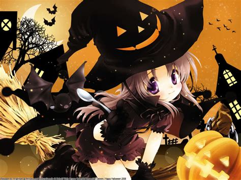 imagenes halloween chica anime anime images anime halloween hd wallpaper and background