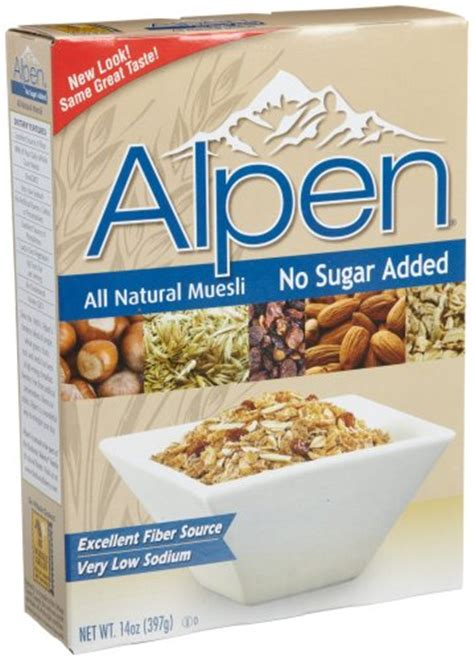 Topfer My Muesli Cereal breakfast foods alpen muesli cereal no sugar added 14
