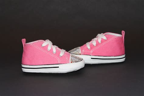 Converse Crib Shoe by Funky Pink Converse Crib Shoes
